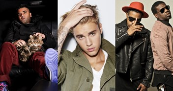 Justin Bieber, R City and Naughty Boy are battling for this week's Number 1 single