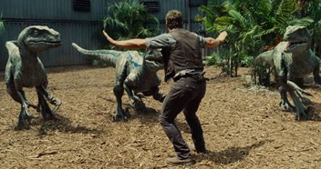 Jurassic World leads this week's Official Film Chart - watch