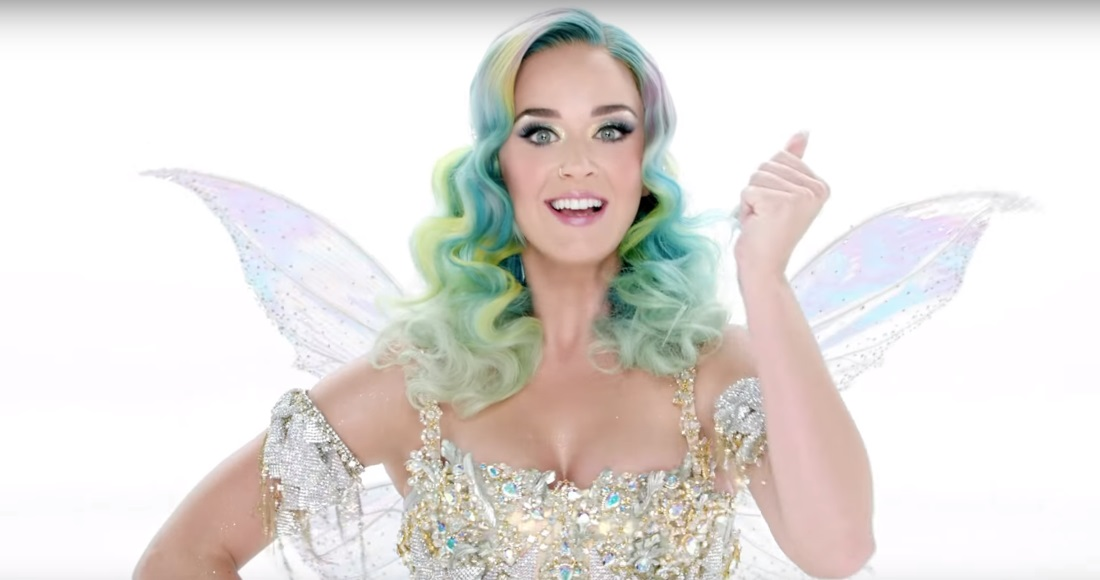 Katy Perry unveils Christmas song Everyday Is A Holiday in H&M advert