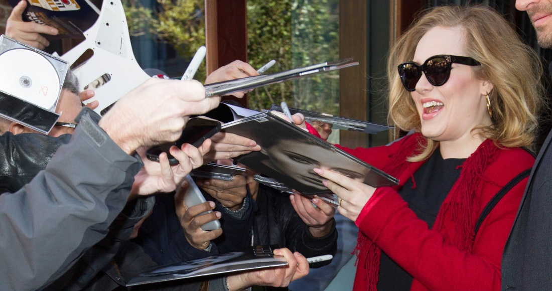 Adele scores the biggest selling album of Christmas 2015