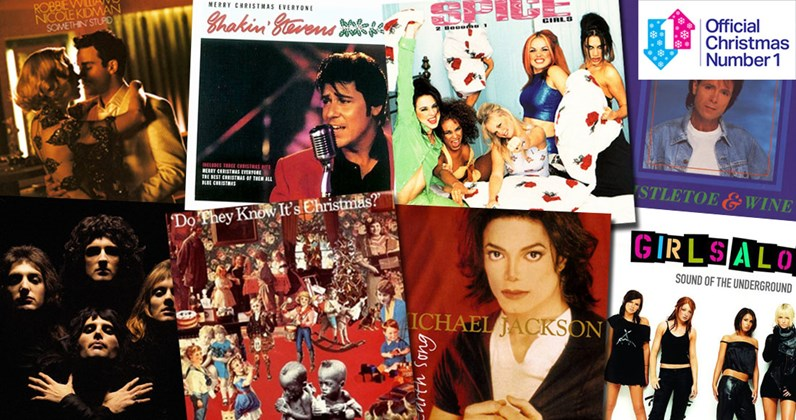 look back at every christmas chart topper of the last 60 years - Death Metal Christmas Songs