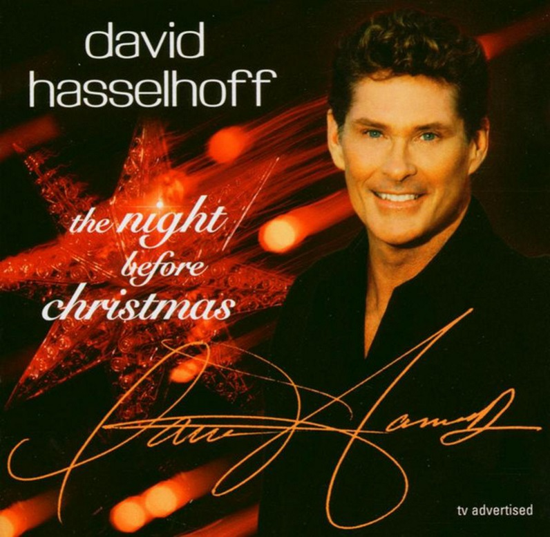 David Hasslehoff the night before Christmas