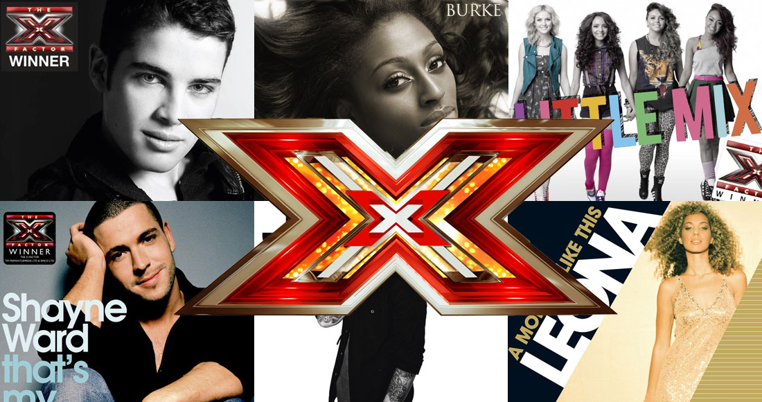 The biggest X Factor winner's singles revealed