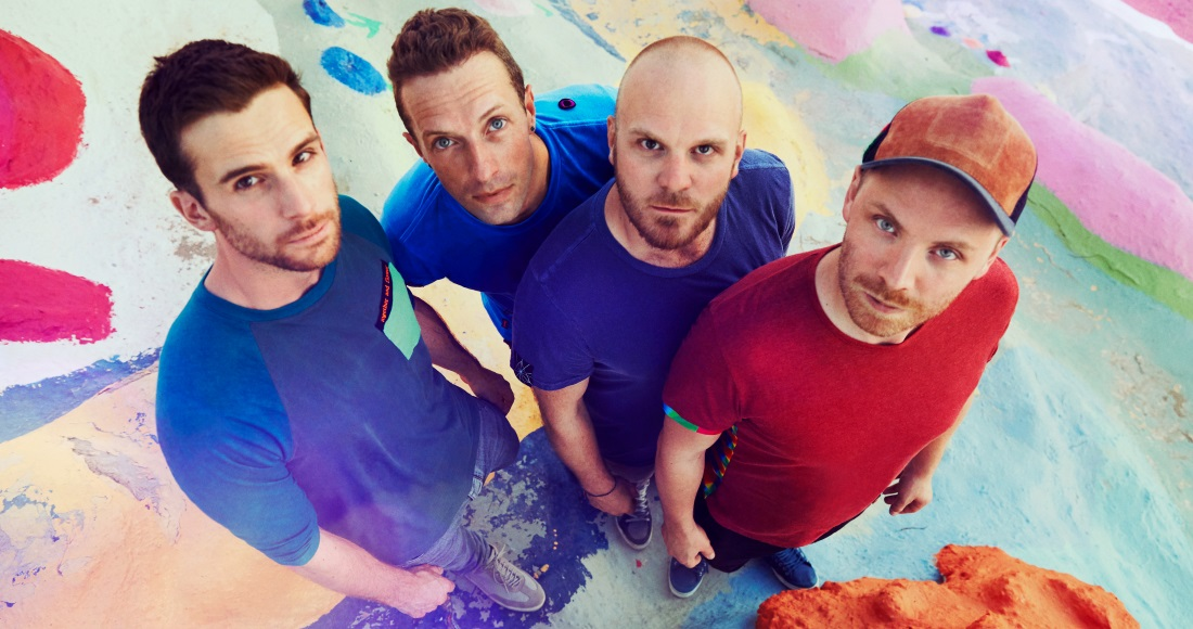 Coldplay's Official Top 20 biggest selling songs revealed