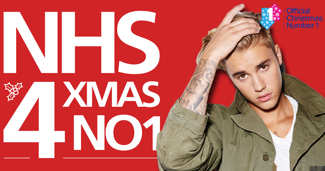 Justin Bieber nudges ahead of NHS Choir as Christmas Number 1 race remains incredibly tight