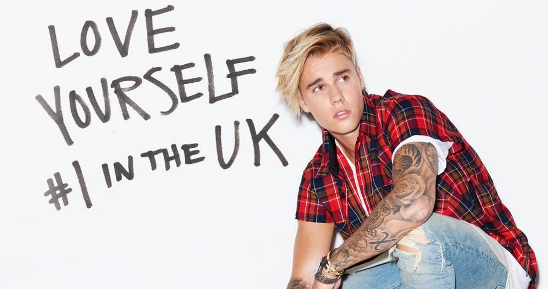 Justin Bieber scores another Official Chart first as he