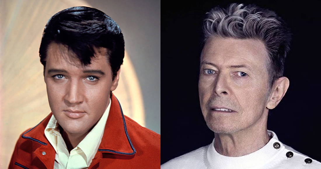 David Bowie matches Elvis Presley's Official Albums Chart record
