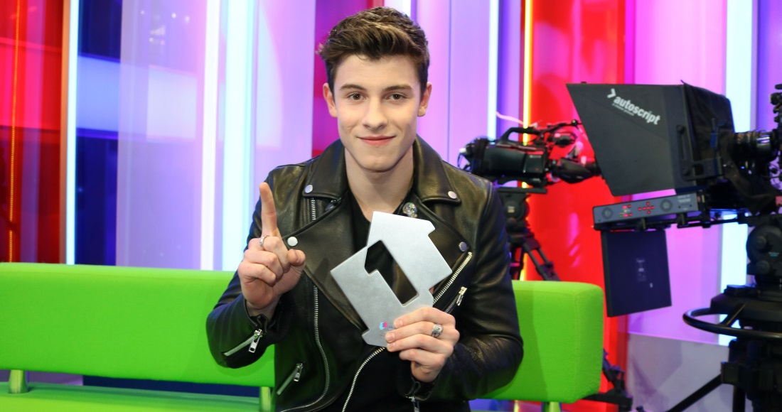 Shawn Mendes complete UK singles and albums chart history