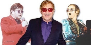 Elton John's Official Top 20 most downloaded songs