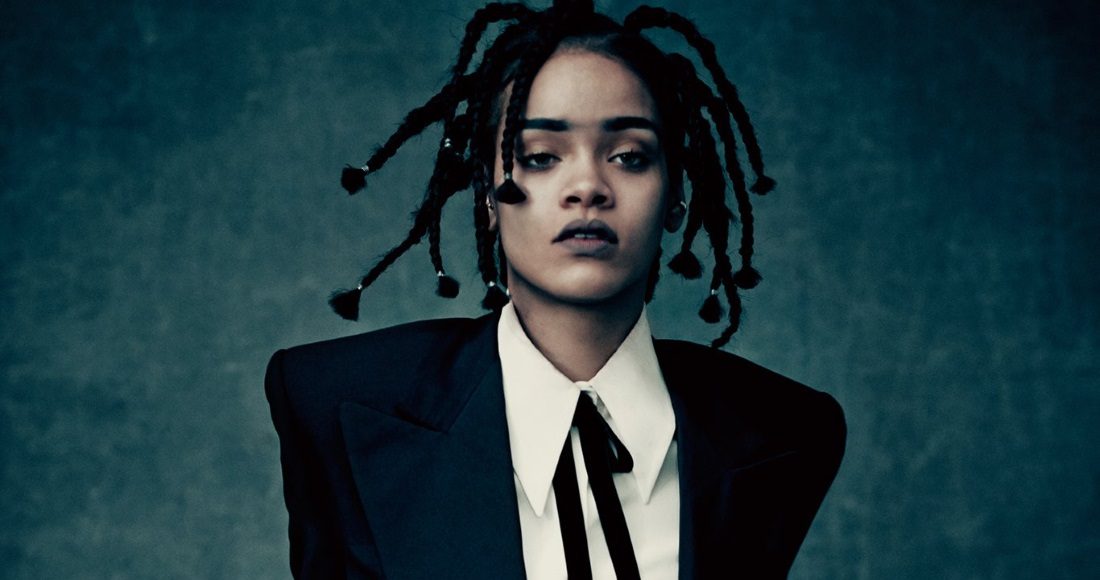 Rihanna complete UK singles and albums chart history