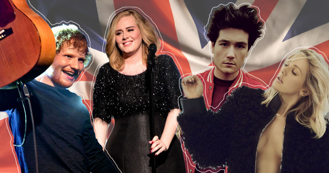 The Top 40 biggest British hits of the decade so far revealed