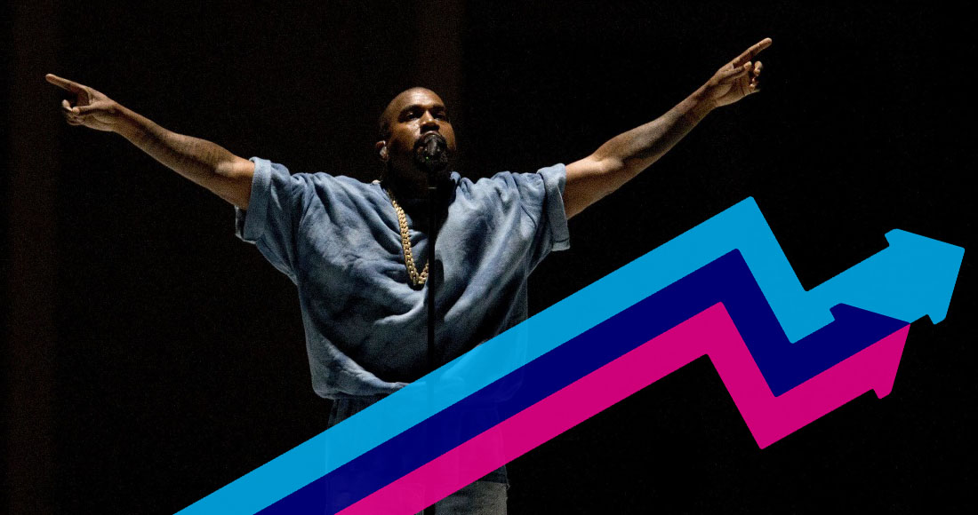 Kanye West and Iggy Azalea make strides on this week's Official Trending Chart