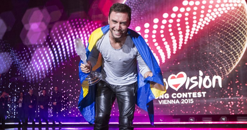 Eurovision's highest charting songs in the UK