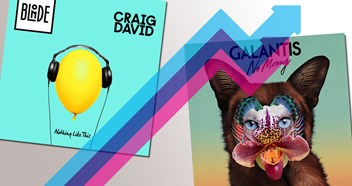 Blonde, Craig David and Galantis lead this week's Official Trending Chart