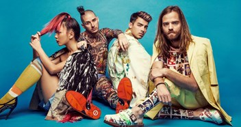 DNCE talk Cake By The Ocean, working with 'pop god' Max Martin and being inspired by Prince - Interview