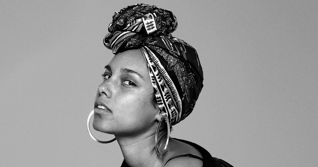 Alicia Keys complete UK singles and albums chart history