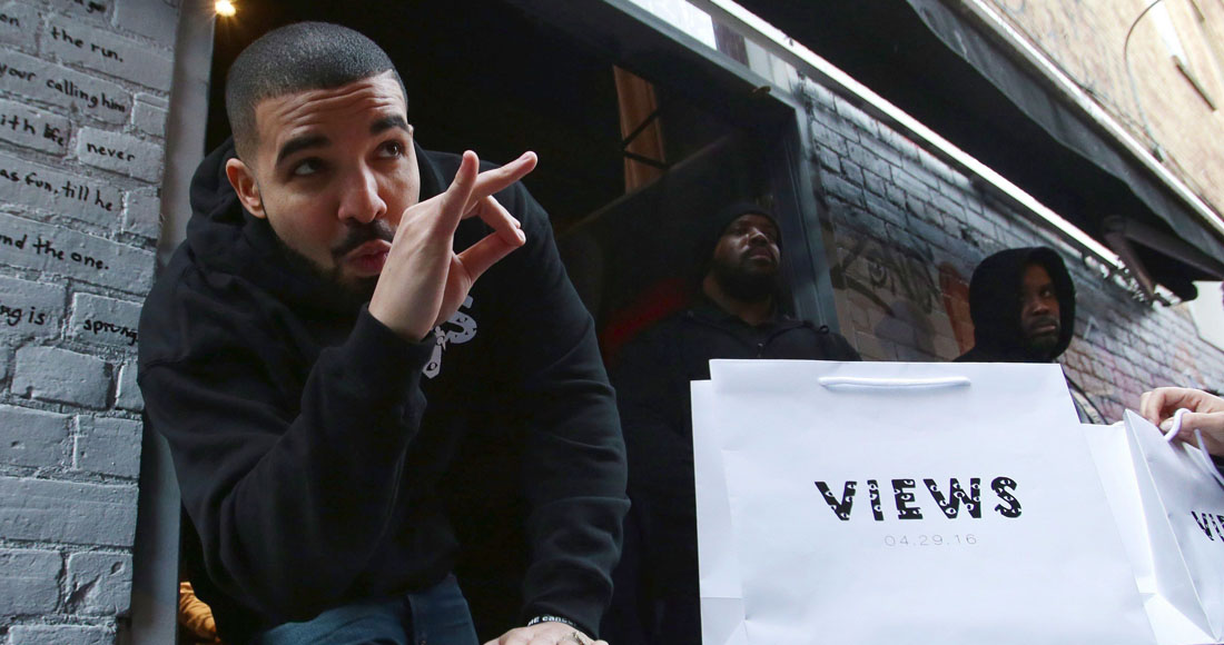 Drake sees off Calvin Harris, Rihanna and Justin Timberlake to claim a fifth week at Number 1