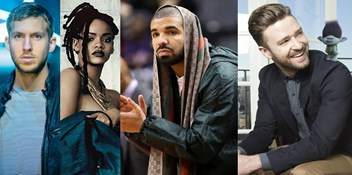 Can Calvin Harris and Rihanna or Justin Timberlake topple Drake on this week's Official Singles Chart?