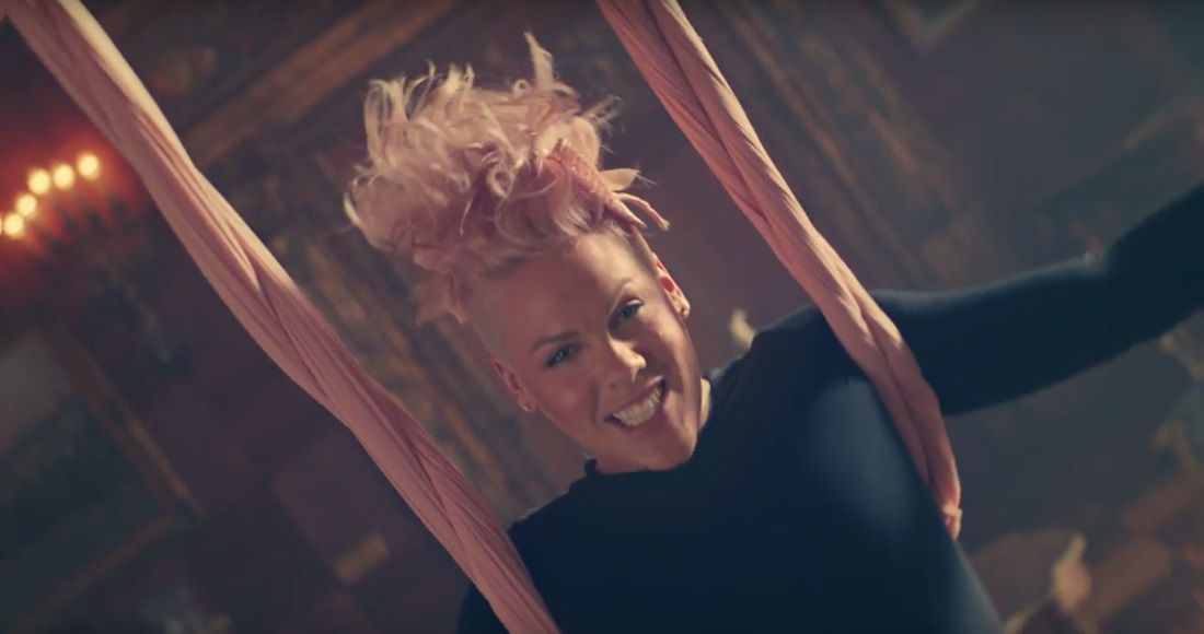 Pink's Official Top 20 biggest songs revealed