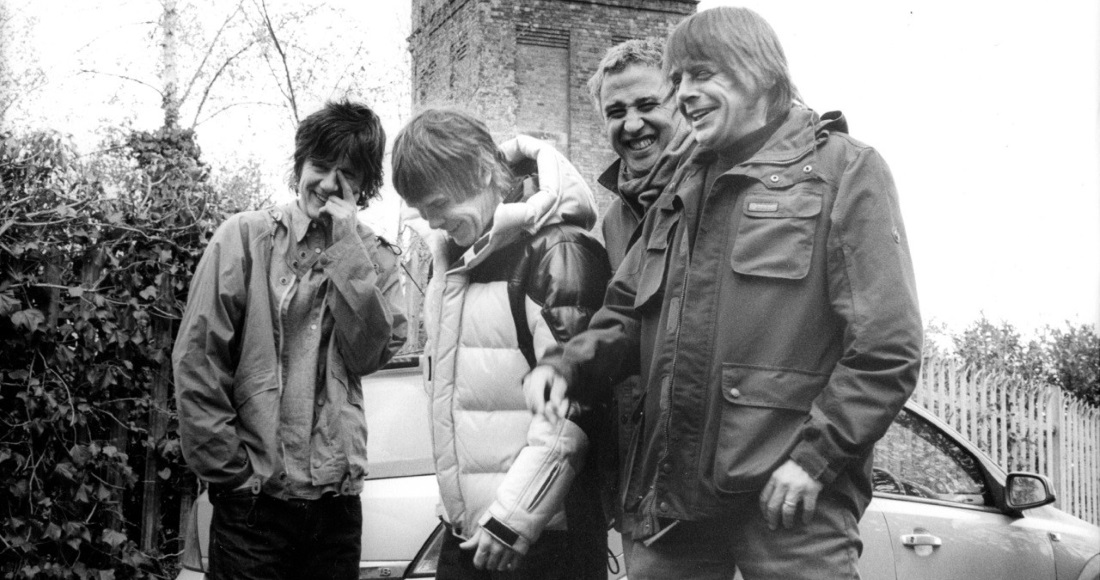 The Stone Roses complete UK singles and albums chart history