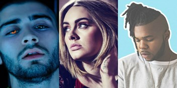 Future Official Chart contenders: Zayn, DNCE, MNEK, Adele and more