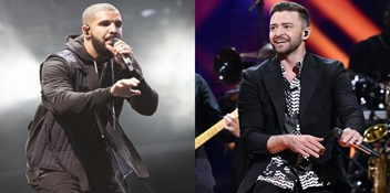 Drake and Justin Timberlake continue tussle for this week's Official Number 1 single