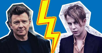 Rick Astley and Tom Odell's battle for this week's Official Number 1 album is seriously close