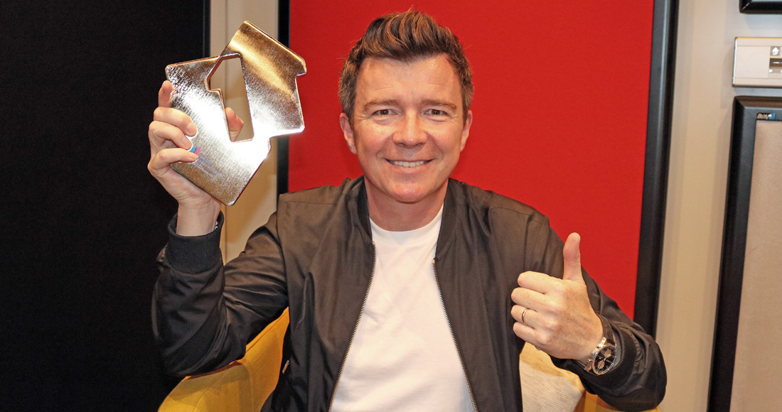 Rick Astley complete UK singles and albums chart history