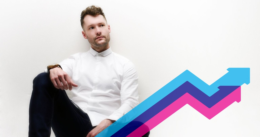 Calum Scott takes Dancing On My Own to Official Trending Chart top spot