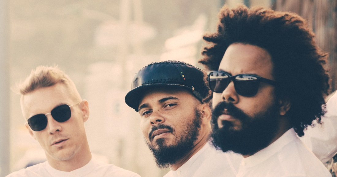 Major Lazer complete UK singles and albums chart history