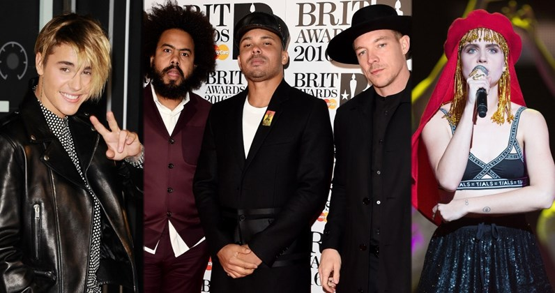 Major Lazer ft. Justin Bieber and MØ complete UK singles and albums chart history