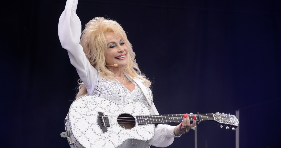 Dolly Parton's biggest hits of the digital age in the UK revealed