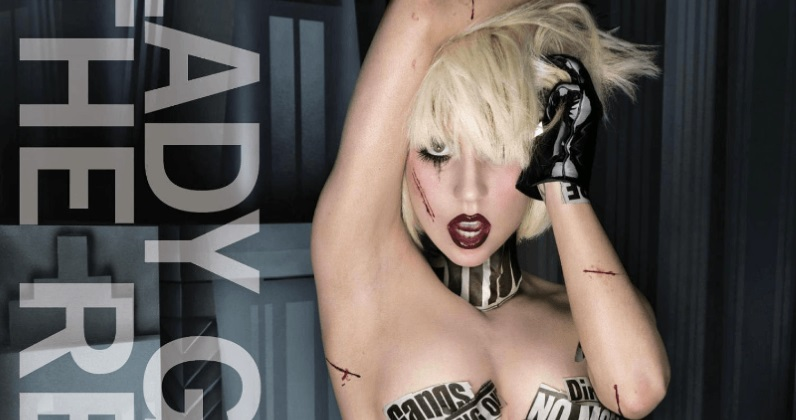 Lady Gaga's single and album covers through the years
