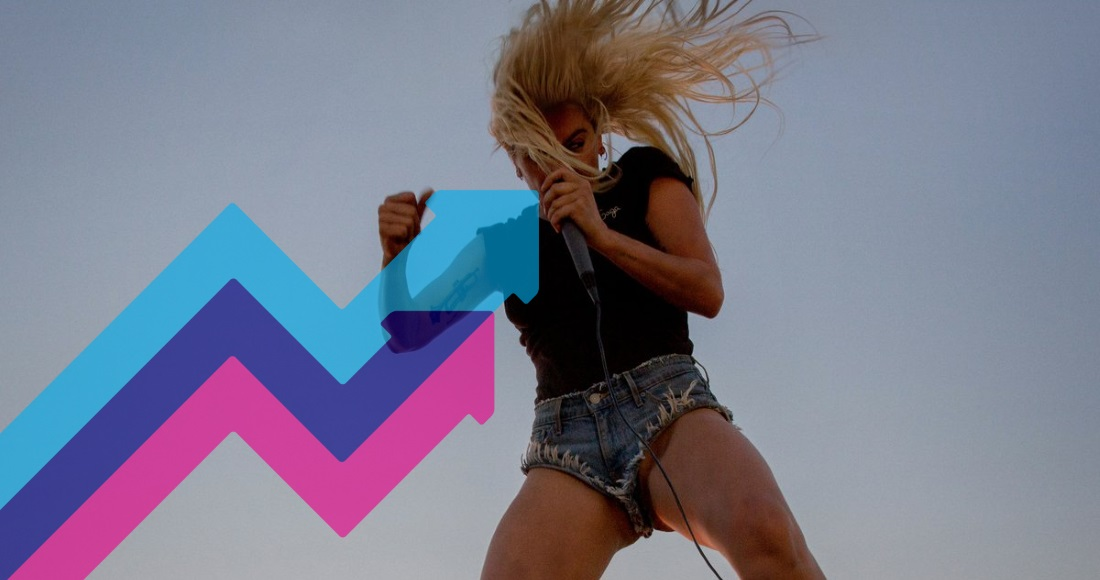 Lady Gaga's Perfect Illusion lands at Number 1 on this week's Official Trending Chart