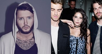 James Arthur is battling The Chainsmokers on this week's Official Singles Chart Update