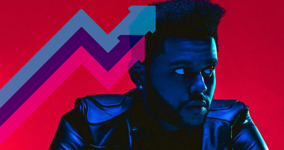 The Weeknd's Starboy is this week's Official Trending Chart Number 1