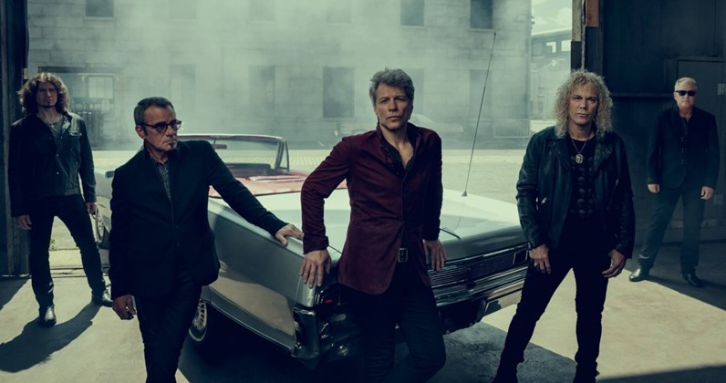 Bon Jovi complete UK singles and albums chart history