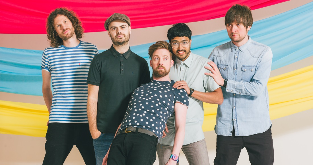Kaiser Chiefs complete UK singles and albums chart history