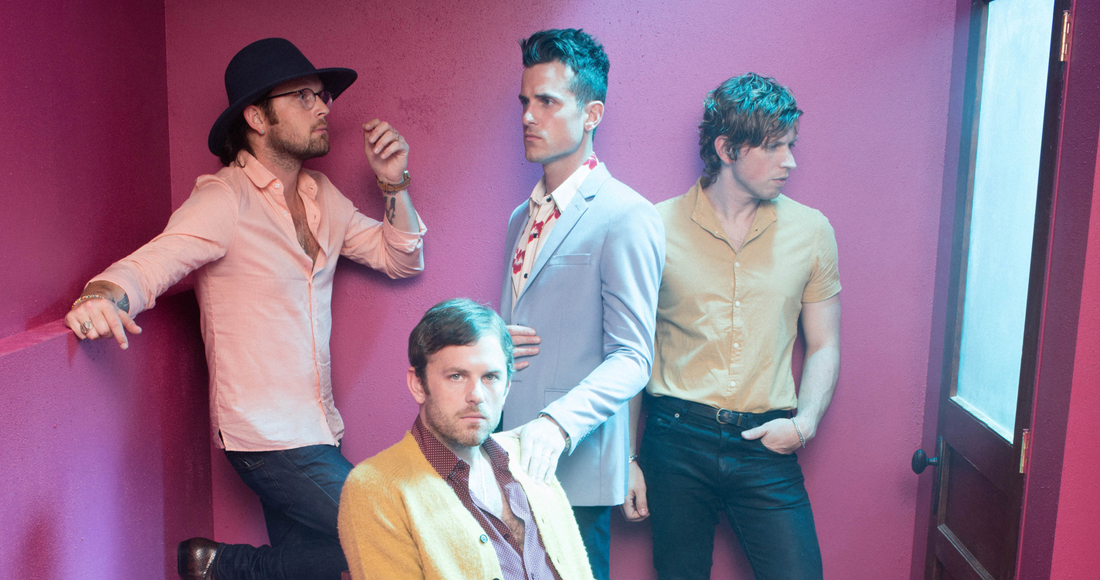 Kings of Leon complete UK singles and albums chart history