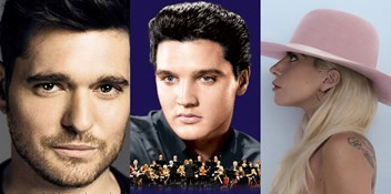 Elvis Presley, Michael Bublé and Lady Gaga battle for Official Albums Chart Number 1