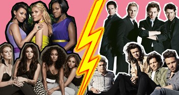 Girlbands vs Boybands – their biggest songs of the century revealed