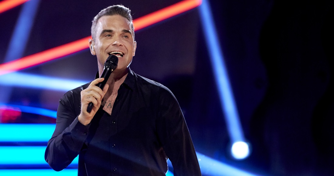 Robbie Williams's new album won't count towards the chart