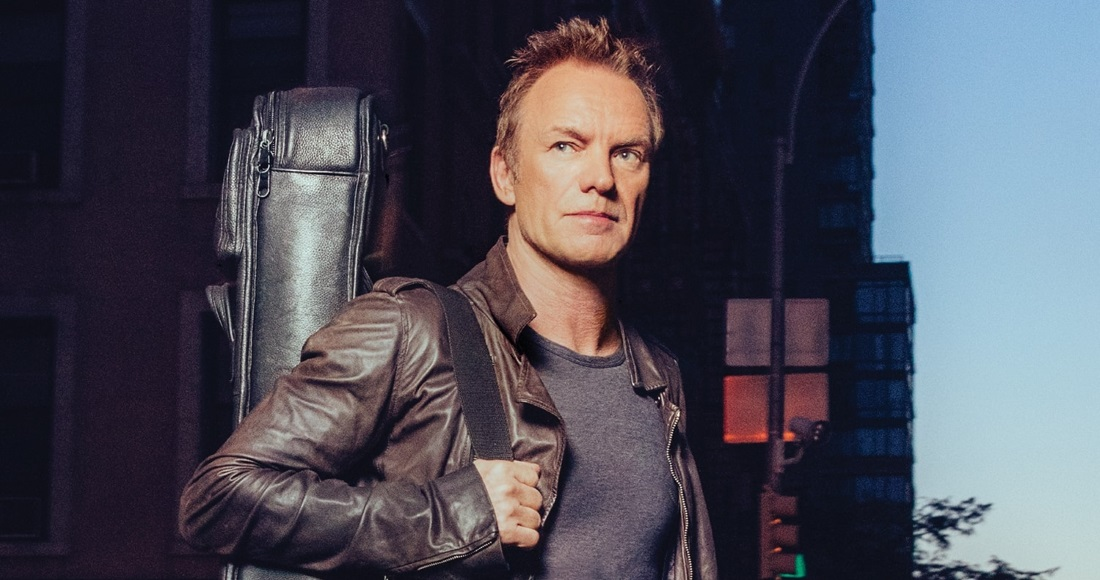 Sting complete UK singles and albums chart history