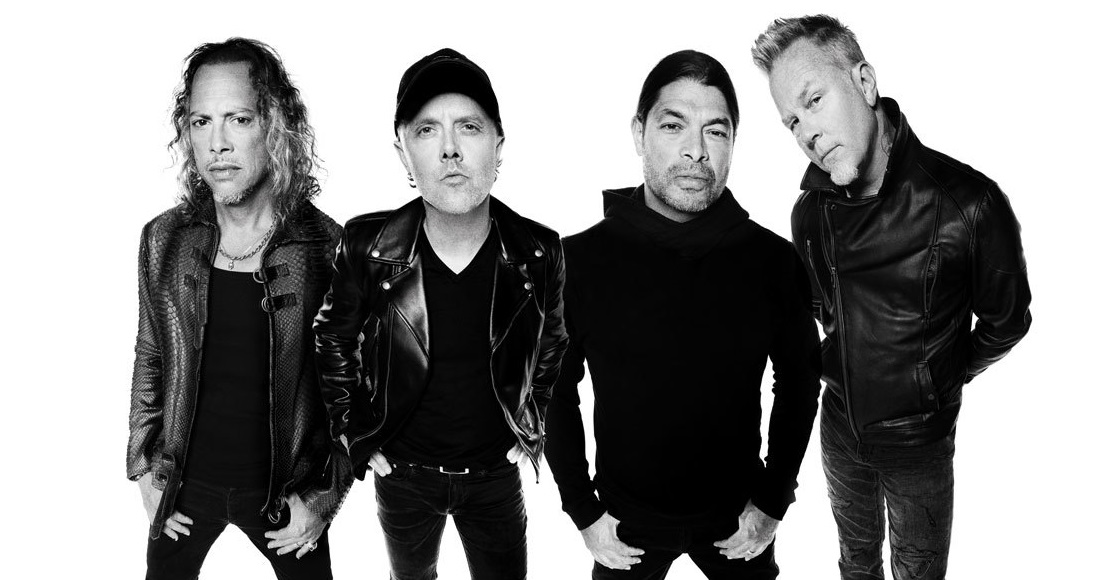 Metallica complete UK singles and albums chart history