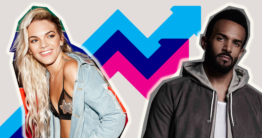 Louisa Johnson and Craig David lead this week's Official Trending Chart