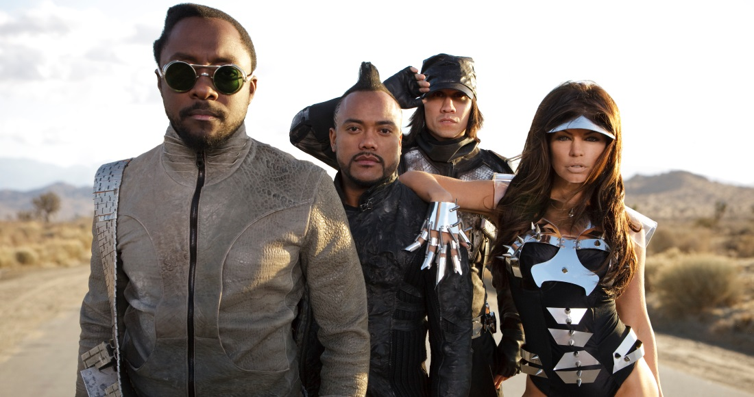 Black Eyed Peas complete UK singles and albums chart history