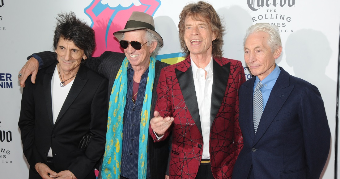 The Rolling Stones complete UK singles and albums chart history