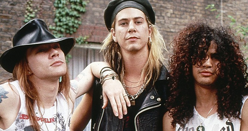 Guns N' Roses complete UK singles and albums chart history