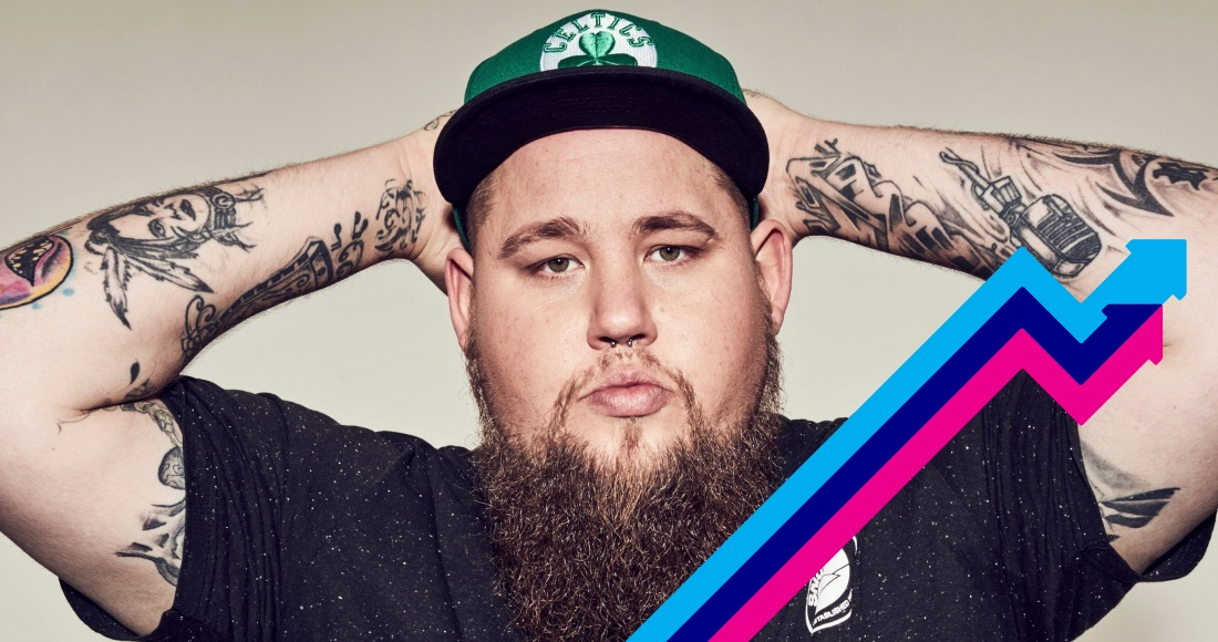 Rag'n'Bone Man tops the Official Trending Chart for a second week with Human