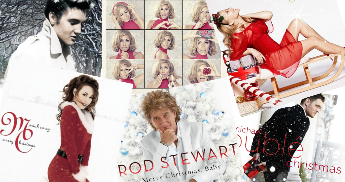 the uk s best selling christmas albums of the century